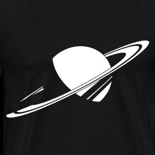 Logo AstronoGeek seul - T-shirt Premium Homme