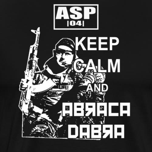 Keep Calm ASP 03 blanc - T-shirt Premium Homme