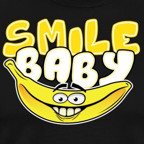 Banana Smile Baby - Mannen Premium T-shirt