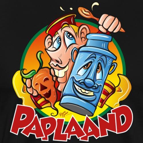 PAPLAAND - Mannen Premium T-shirt