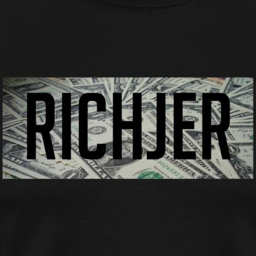 RichJer Dollar - Männer Premium T-Shirt