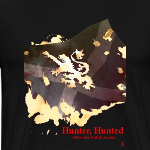 'Hunter, Hunted' Cover by Paul Fry - Men's Premium T-Shirt