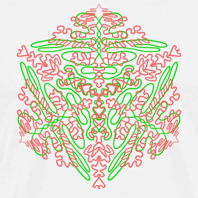 Neon Star - Mandala