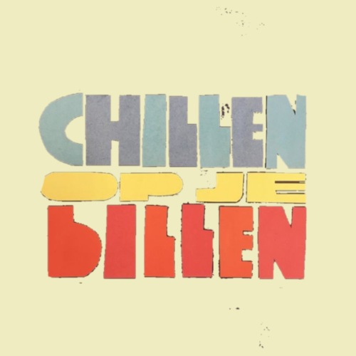 Chillen op je billen - Mannen Premium T-shirt