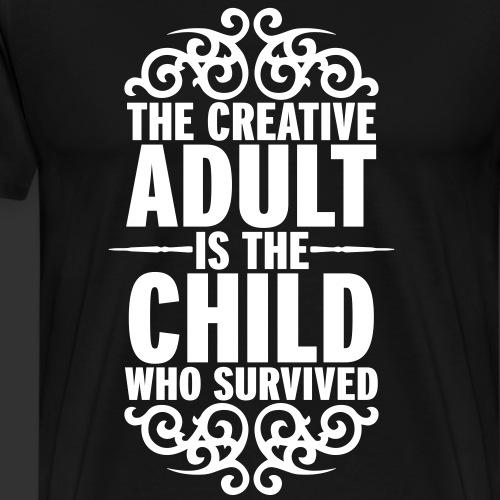 Creative Adult - Premium-T-shirt herr