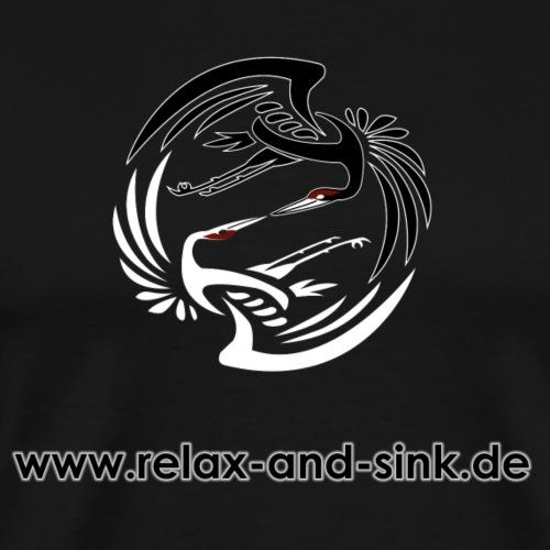 Relax and Sink - Männer Premium T-Shirt