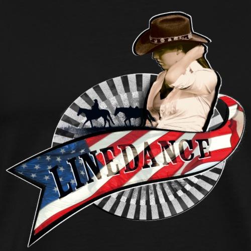 kl_linedance62 - Männer Premium T-Shirt