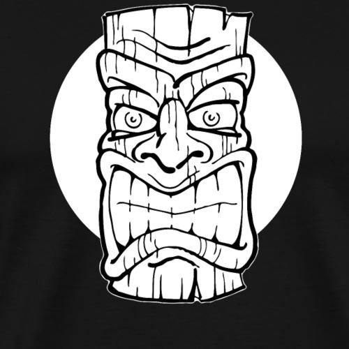 Tiki Maske Tiki Mask - Männer Premium T-Shirt