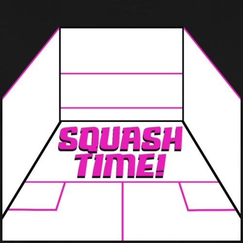 Squash Time! Squash Spielfeld Design - Männer Premium T-Shirt