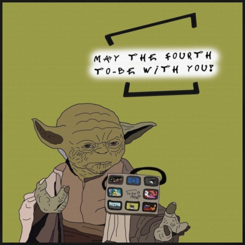 May the fourth to be with you - Männer Premium T-Shirt