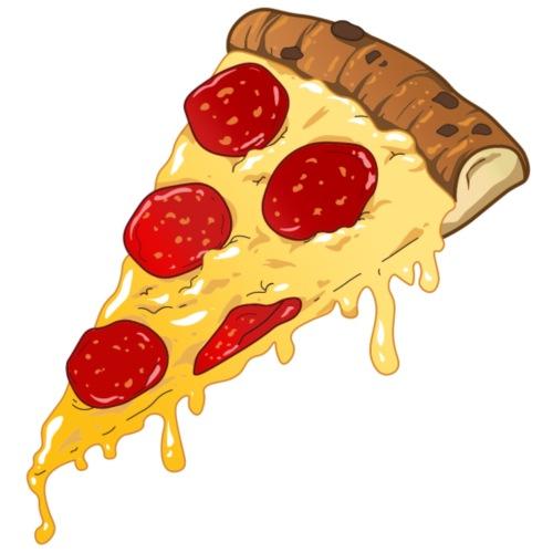 TRANCIO DI PIZZA - Maglietta Premium da uomo