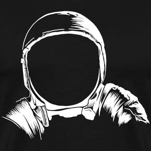 Astronauten Helm - Männer Premium T-Shirt
