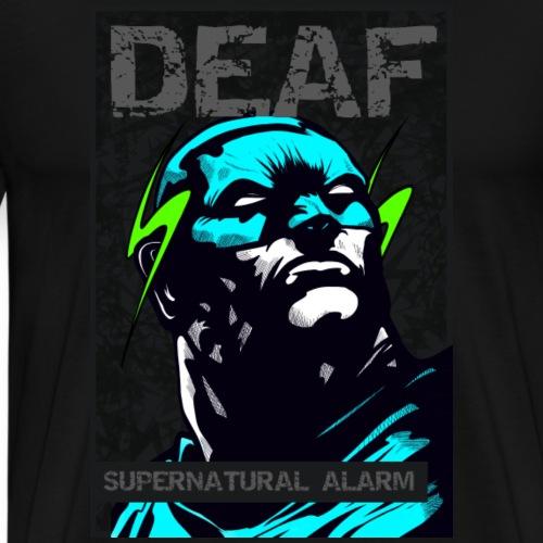 Deaf Supernatural Alarm - Männer Premium T-Shirt