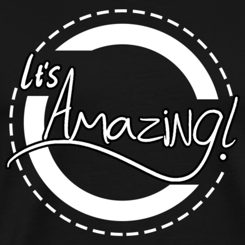 It's Amazing! (white) - Men's Premium T-Shirt