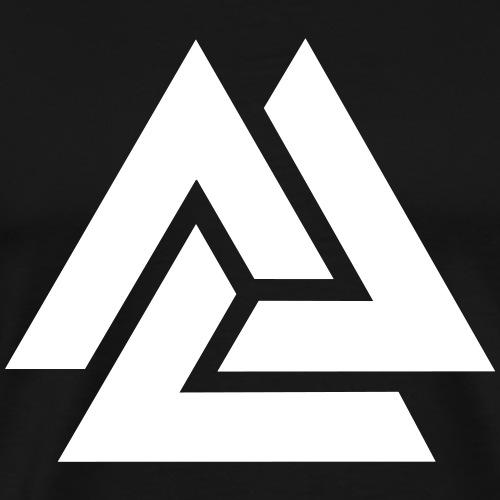 Valknut, Odin, Symbol, Wikinger, Nordisch, Kelten - Männer Premium T-Shirt