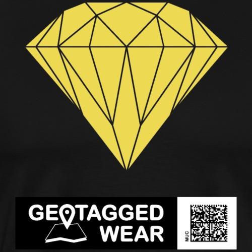 Unisex Diamond Pantone Meadowlark
