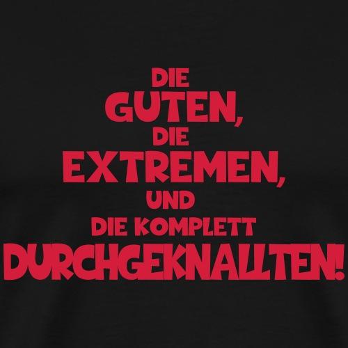 durchgeknallt_v1 - Männer Premium T-Shirt