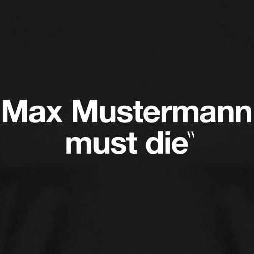 Max Mustermann - Männer Premium T-Shirt