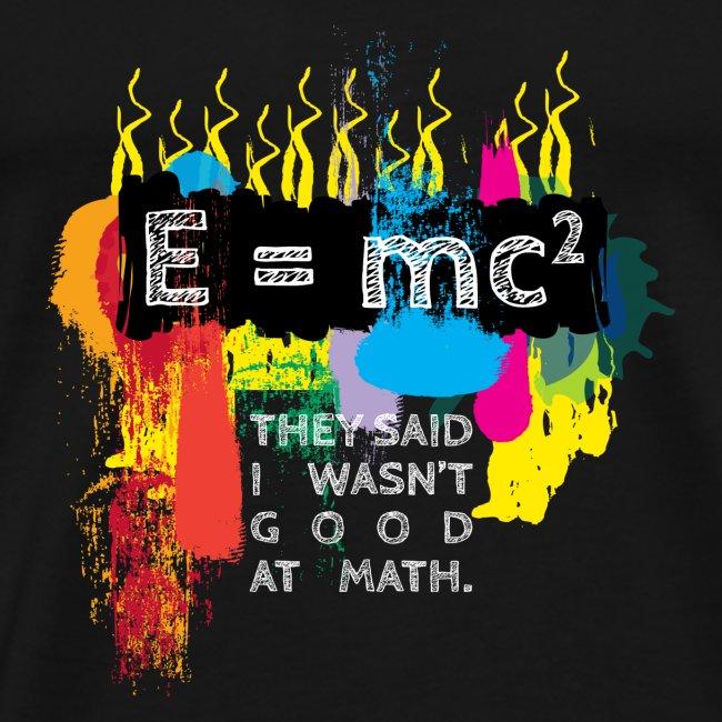 Good at math White