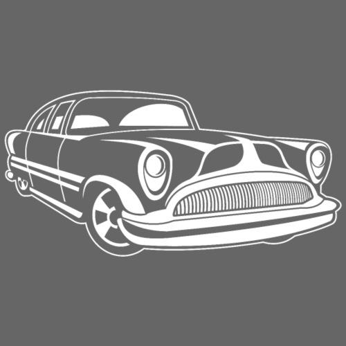 Lowrider / Oldtimer / Muscle Car 03_weiß - Männer Premium T-Shirt