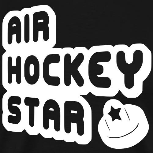 Air Hockey Star - Men's Premium T-Shirt
