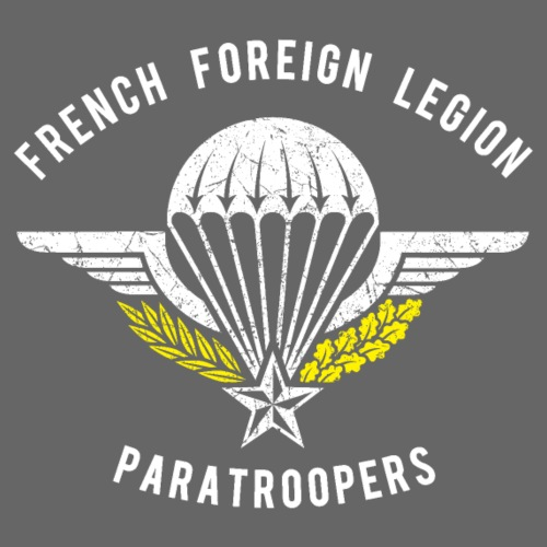 Foreign Legion Paratroopers - Wings - Men's Premium T-Shirt