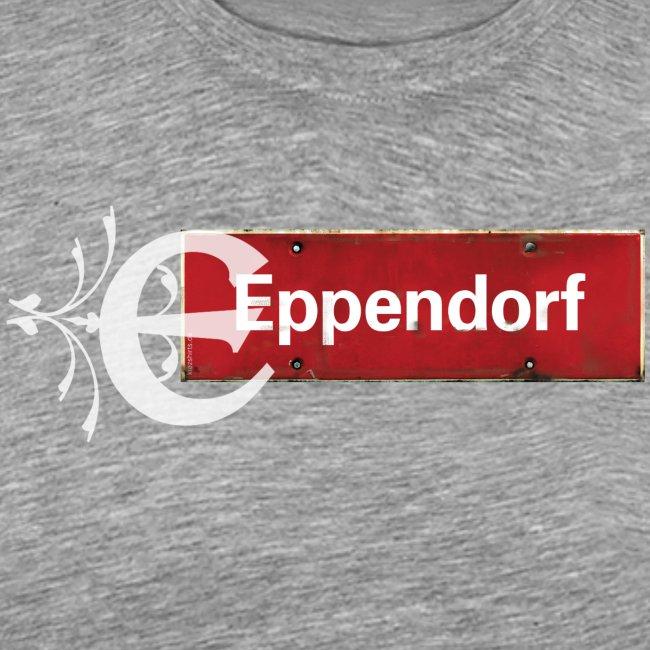 Hamburg Eppendorf Ortsschild mit Initial