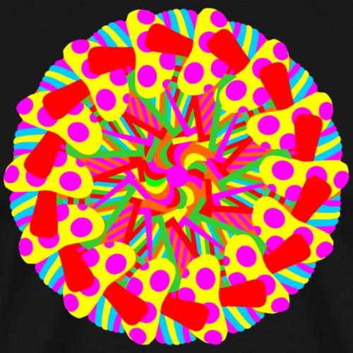 Mandala T-shirt vrouwen - Mannen Premium T-shirt