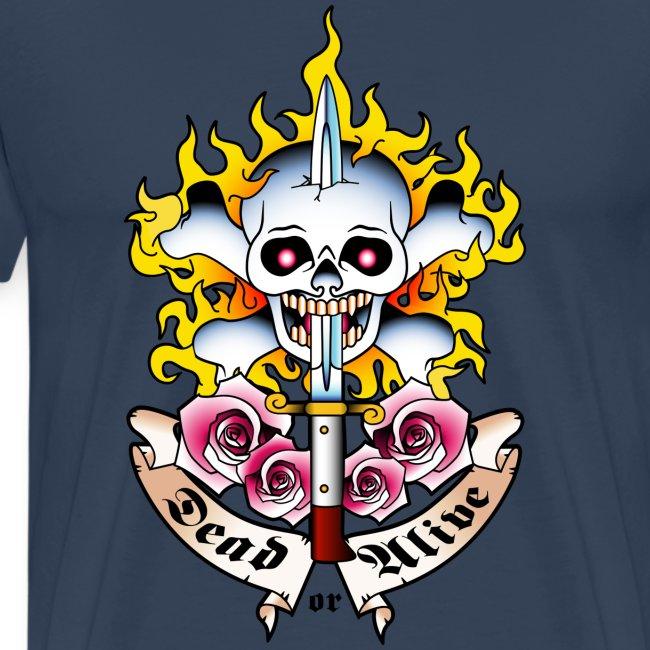 Dead or Alive - Tattoo Design