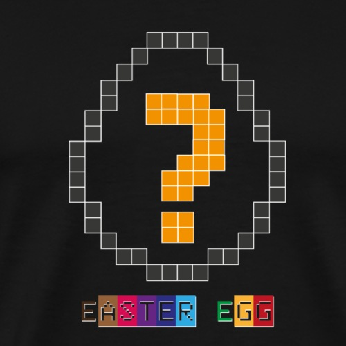 EasterEgg Question - Männer Premium T-Shirt