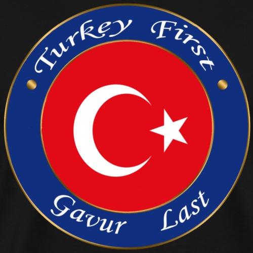 Turkey FIRST - Men's Premium T-Shirt