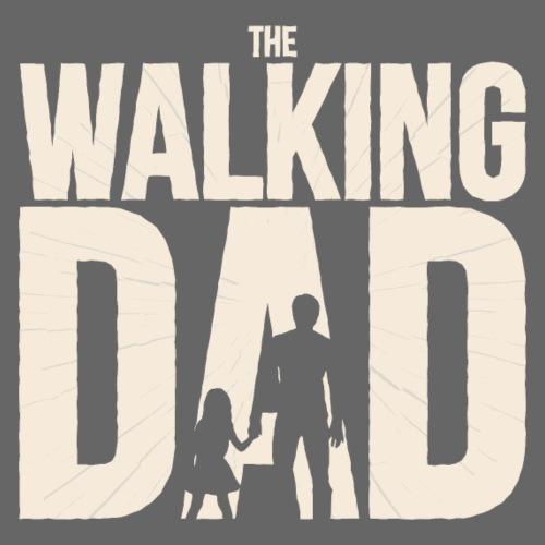 The Walking Dad Geschenk für werdende Papas - Männer Premium T-Shirt