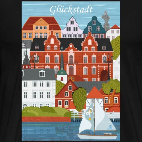Glückstadt Dansk Design - Männer Premium T-Shirt