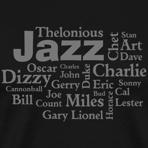 Jazz Greats - Männer Premium T-Shirt