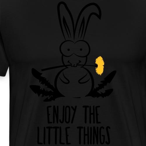 Hasen Kaninchen Löwenzahn Zwergkaninchen Häschen - Männer Premium T-Shirt