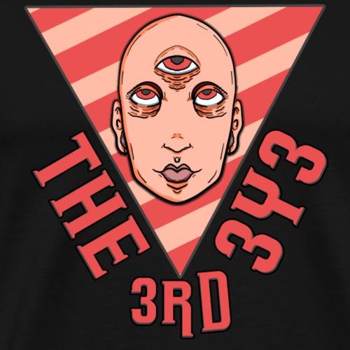 Das dritte Auge - Männer Premium T-Shirt