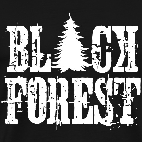 Black Forest - Männer Premium T-Shirt