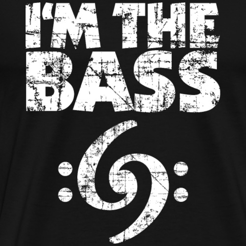 I'm the Bass 69 Vintage White - Männer Premium T-Shirt