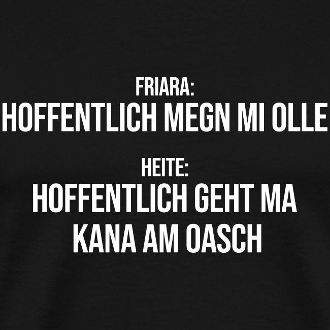 Klassiker Sprüche Männer Premium T Shirt