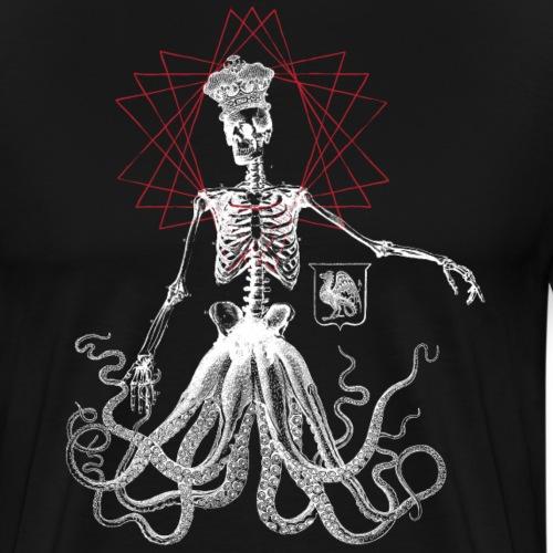 Skeleocto King - Men's Premium T-Shirt
