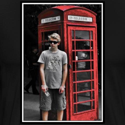 The Phone Box - Premium-T-shirt herr