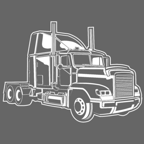 Truck / Lkw 02_weiß - Männer Premium T-Shirt