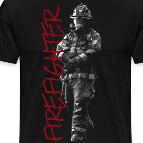 Firefighter Feuerwehrmann Einsatz Shirt Geschenk - Männer Premium T-Shirt