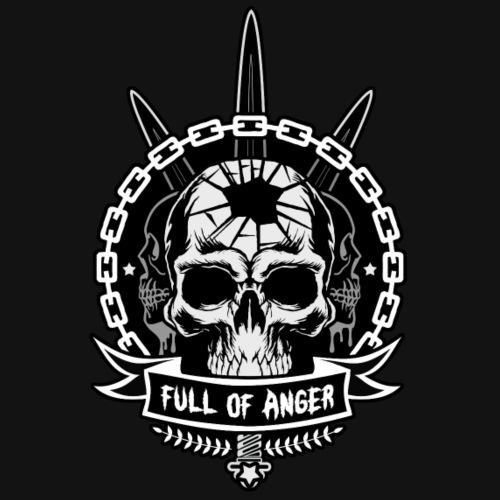 Full of Anger Logo #3 - Premium-T-shirt herr