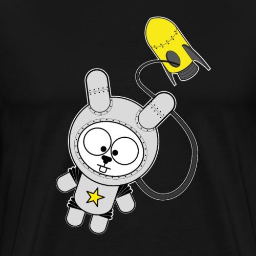 Space Bunny - Männer Premium T-Shirt