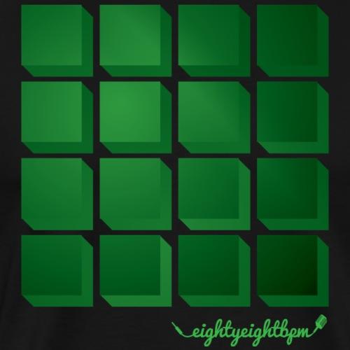 88 BPM MPC 16 Pads (green) - Men's Premium T-Shirt