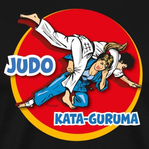 Judu-Kataguruma2 - Männer Premium T-Shirt