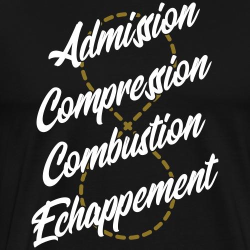Moteur 4 temps - T-shirt Premium Homme
