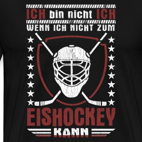Ich Bin Eishockey Geschenk Coach Spieler Hockey - Männer Premium T-Shirt