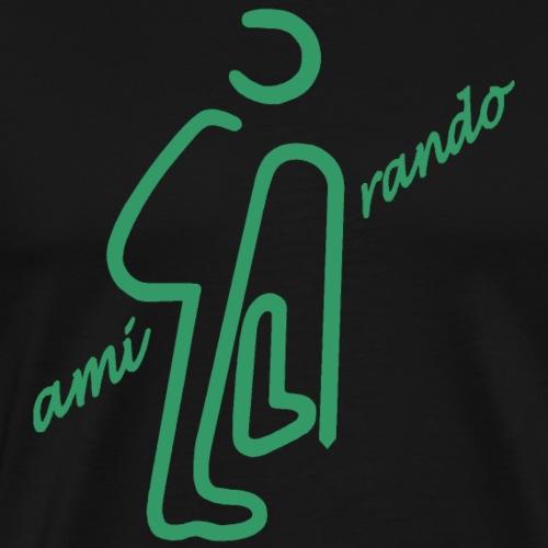Amirando19 vert bleu - T-shirt Premium Homme